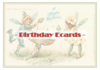 Vintage Birthday Ecards