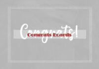 Congrats Ecards B