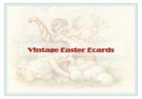 Vintage Easter Ecards
