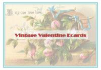 Vintage Valentine's Day Ecards